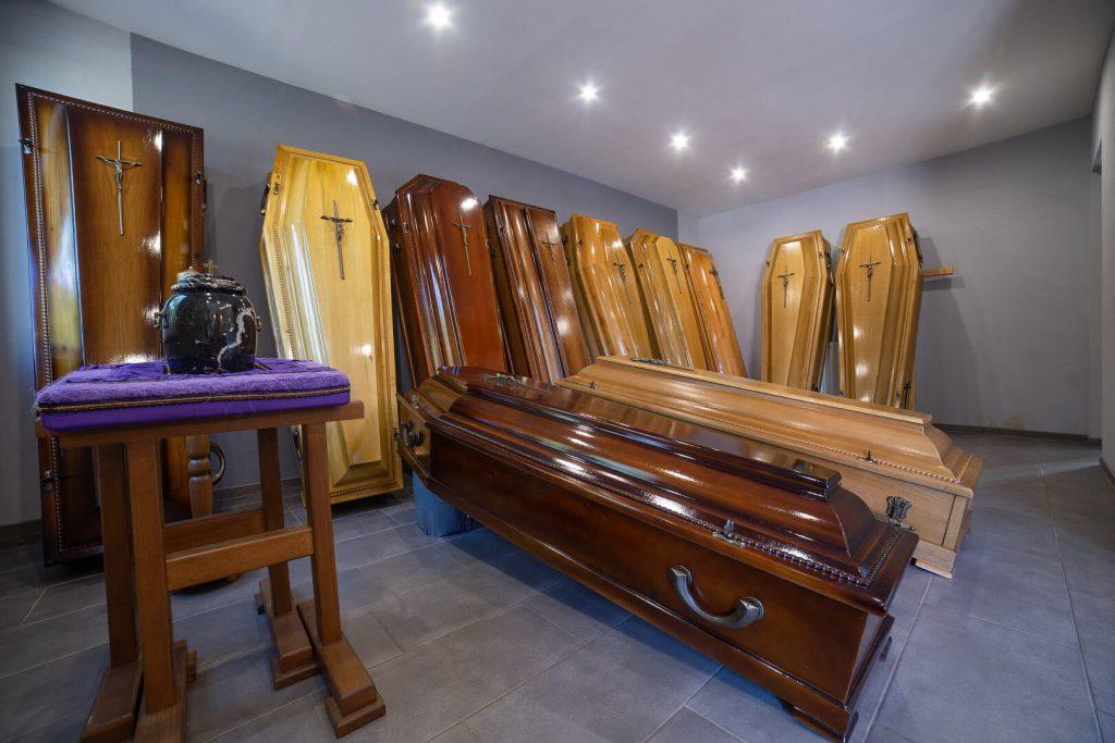 zakład pogrzebowy