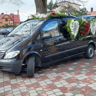 Karawan zakładu pogrzebowego Kierpiec